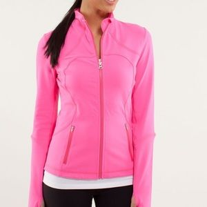 Lululemon Forme Jacket Hot Pinkolicious